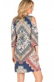 Hale Bob | Open shoulder jurk Laila | blauw  | Afbeelding 5