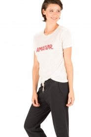 Amatør | T-shirt Roro Logo | wit  | Afbeelding 3