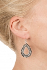 Close to Zen | 925 sterling oorbellen Sunflower Small | zilver  | Afbeelding 3