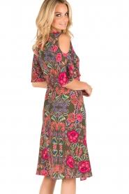 Set | Zijden jurk Flower | groen  | Afbeelding 5