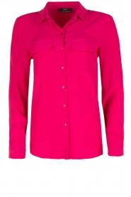 Set | Zijden blouse Corine | roze  | Afbeelding 1
