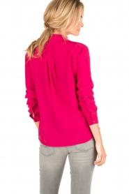 Set | Zijden blouse Corine | roze  | Afbeelding 5