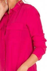 Set | Zijden blouse Corine | roze  | Afbeelding 6