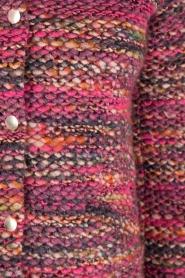 Set | Bouclé vest Ellen | roze  | Afbeelding 7