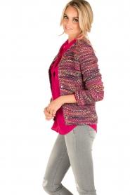 Set | Bouclé vest Ellen | roze  | Afbeelding 4
