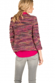 Set | Bouclé vest Ellen | roze  | Afbeelding 5