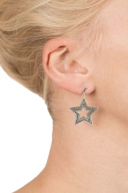 Close to Zen |  925 sterling earrings Star and Moon | silver  | Picture 3