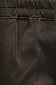 Suite 22 | Leren broek Hudson | zwart  | Afbeelding 6