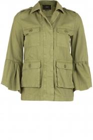 Set | Flair spijkerjas  Bobby | groen  | Afbeelding 1