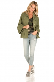 Set | Flair spijkerjas  Bobby | groen  | Afbeelding 7