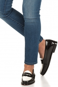 G.H. Bass & Co. | Leren loafers Weejun Penny | zwart  | Afbeelding 2