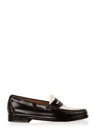 Leather loafers Weejun Penny | black