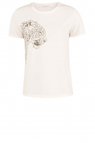 IKKS | T-shirt Jungle | wit  | Afbeelding 1