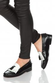 G.H. Bass & Co. | Leren loafers Weejun Esther | zwart  | Afbeelding 2