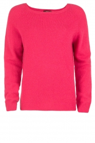 Set |  Fine knitted cashmere sweater Mona | pink  | Picture 1