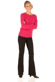 Set |  Fine knitted cashmere sweater Mona | pink  | Picture 3