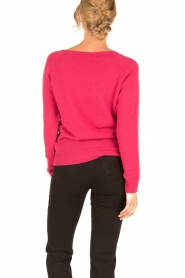 Set |  Fine knitted cashmere sweater Mona | pink  | Picture 5