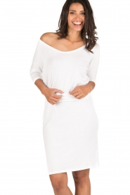 BLAUMAX |  Dress Mila | white  | Picture 2
