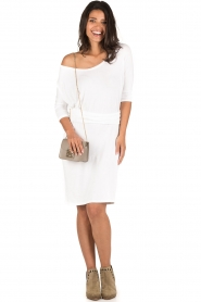 BLAUMAX |  Dress Mila | white  | Picture 3