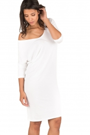 BLAUMAX |  Dress Mila | white  | Picture 4
