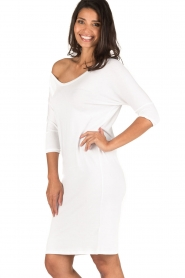 BLAUMAX |  Dress Mila | white  | Picture 6