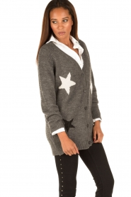 Set |  Knitted cardigan Heir | grey  | Picture 4