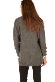 Set |  Knitted cardigan Heir | grey  | Picture 5