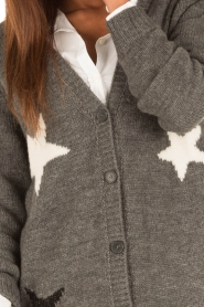 Set |  Knitted cardigan Heir | grey  | Picture 6