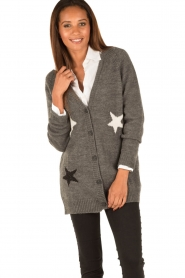 Set |  Knitted cardigan Heir | grey  | Picture 2