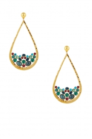Gas Bijoux |  Plated earrings Ajung | gold  | Picture 2