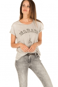 Set | T-shirt Marals Paris | grijs  | Afbeelding 2