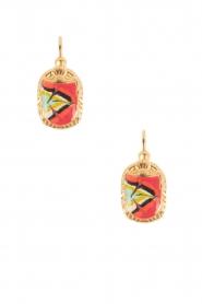 Gas Bijoux | Vergulden oorbellen Scaramouche | goud  | Afbeelding 1