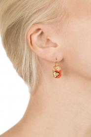 Gas Bijoux | Vergulden oorbellen Scaramouche | goud  | Afbeelding 3