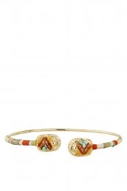 Gas Bijoux | Vergulden armband Bduality | goud  | Afbeelding 2