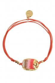 Gas Bijoux | Armband Scaramouche | goud  | Afbeelding 2