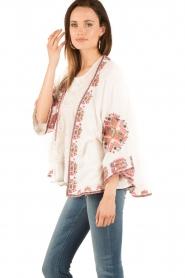 Star Mela | Kimono Felka | wit  | Afbeelding 3