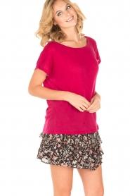 IRO | T-shirt Trollada | roze  | Afbeelding 2