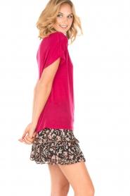 IRO | T-shirt Trollada | roze  | Afbeelding 3