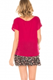 IRO | T-shirt Trollada | roze  | Afbeelding 4