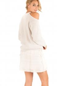 IRO | Open shoulder trui Lineisy | grijs  | Afbeelding 5