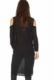 IRO |  Linen dress Girvin | black  | Picture 5
