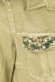Dishe Jeans | Blousejurk Liza | groen  | Afbeelding 6
