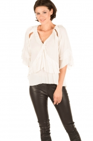 IRO |  Blouse Abby | white  | Picture 2