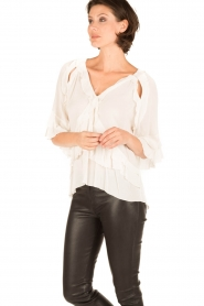 IRO |  Blouse Abby | white  | Picture 4