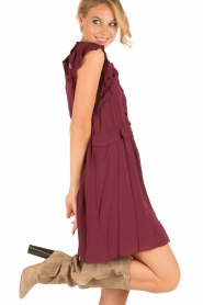 IRO |  Dress Aya | bordeaux  | Picture 4