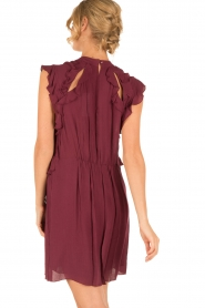 IRO |  Dress Aya | bordeaux  | Picture 5