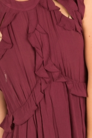 IRO |  Dress Aya | bordeaux  | Picture 7