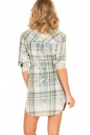 Dishe Jeans |  Blouse dress Megan | green/blue  | Picture 5