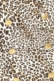 ELISABETTA FRANCHI | Blazerjurk Safari | panterprint  | Afbeelding 6