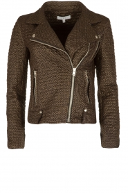 IRO |  Biker jacket Camy | black  | Picture 1